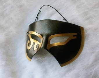 Egyptian Eyes - leather costume mask