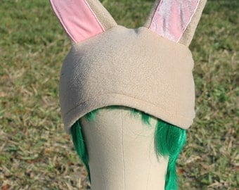 Bunny beanie fleece animal hat