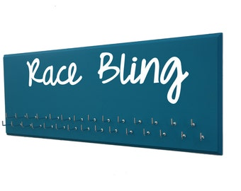 Race bibs and medals holders - medals holder and rage bibs holder : holder for medals and bibs for runner - race bling