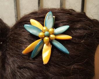 Fancy Flower Natural Hair Clip