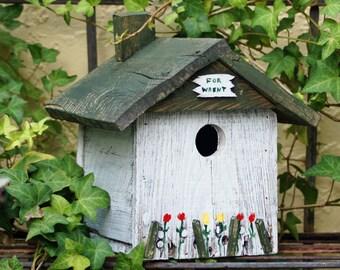 BIRD HOUSE - Vintage Style Bird House - Wren House