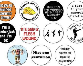 Monty Python (Various Designs) Button Badge 25mm / 1 inch