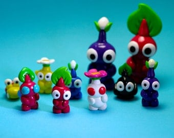 Pikmin Figures (Made to order)
