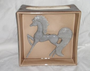 Ceramic Lamp Base Horse from Carla's Vintage Finds