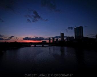 Sunset Over Austin