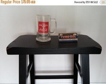 Vintage Beverage Glass Enjoy Bacardi Rum and Coca Cola Mug Red Barware 15.95