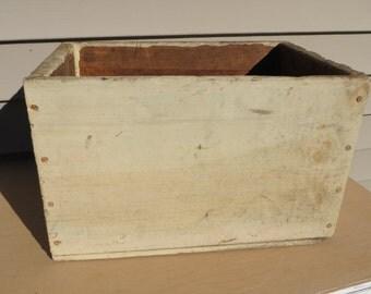 Vintage Wooden Box.
