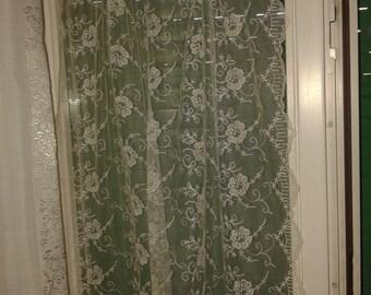 custom made Lace Café Curtain