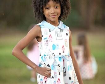 Spring & Summer Girls Boutique Dresses, Birthday Dress, Party Dress, Summer Dress, Spring Dress, Back to School Dress, (BODR271)