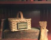 2 stitching baskets