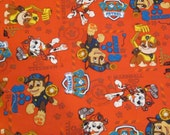 Car Seat Canopy / Cover - Fitted - Paw Patrol cotton fabric