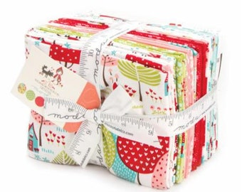 Lil' Red Doll Panel PLUS Complete Set Fat Quarter Bundle of 19 by Stacy Iset Hsu for Moda