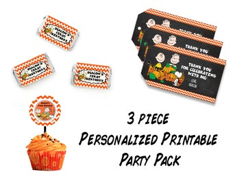 Charlie Printable Party Pack