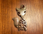 Articulated Fox Pendant Signed Classic