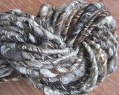 Handspun Yarn Wild and Wooly Wrapped