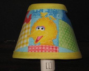 Sesame Street Big Bird Fabric Night Light