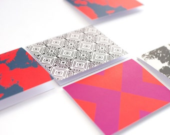 7 LOFT eight piece blank card set with envelopes