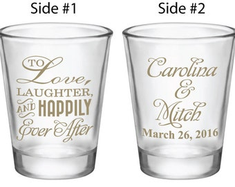 Now your guests can Take a shot! with you!  See our new wedding favor boxes available separately at this link! https://www.etsy.com/listing/176682750/150-clear-