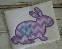 Unique Easter Bunny Outline Related Items Etsy