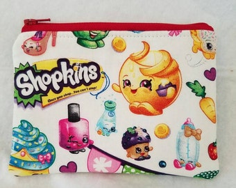 Shopkins coin pouch