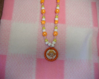 Deema from Bubble Guppies Inspired Bottle Cap Necklace