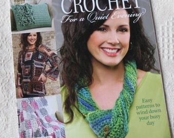 Destash Copy of Crochet Magazine Crochet for a Quiet Evening, New, October 2013 Special Issue