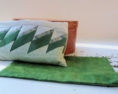Yoga Eye Pillow Flax Seed Eye Pillow Mint Scented with Washable Protective Case