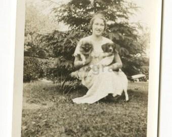 "20th Century Dog - Vintage Vernacular ""found"" Glossy Photograph"