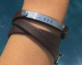 Thin Blue Line Jewelry, Police Wife Bracelet, Firefighter Wife Bracelet, Police Wife, Firefighter Wife, Natashaaloha