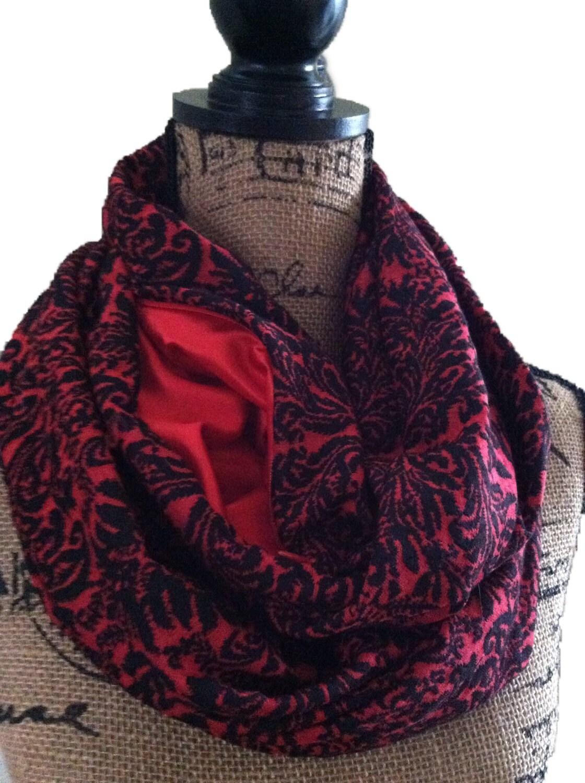 Passport travel scarf with hidden pocket secret pocket scarf for Travel scarf