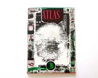Vintage Atlas art and photography magazine, limited edition, issue three, Jake Tilson, 1988, printed in England