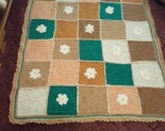 Crochete Daisy Afghan