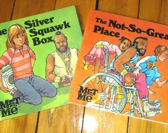 Mr. T and Me Books/Silver Squawk Box/The Not So Great Place/The A-Team