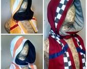 Mercenary hooded scarf