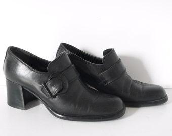 Black shoes maryjanes size 6.5 size EU 37