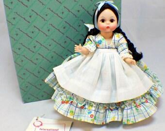 "Madame Alexander 8"" Doll And Box International Argentina Girl #771"