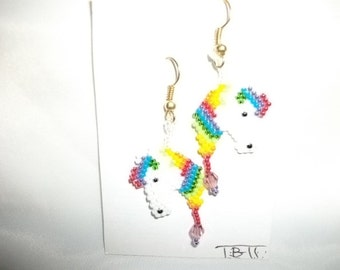 Horses Rainbow Earrings