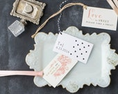 Favor Tags for Weddings, Bridal Showers, Baby Showers with Customizable Fonts, Wording, Colors & Styles (Modern, Rustic, Vintage)