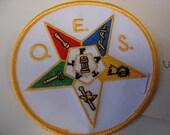 O.E.S. Star Patch