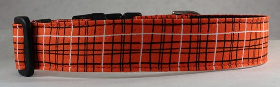 Dog Collar, Martingale Collar,  Cat Collar - All Sizes - Lunchbox in Red