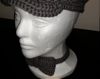 Youth Kangol and Bow Tie Set (Ready to Ship)