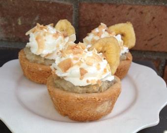 Banana Cream Mini Pies (set of 4)
