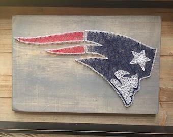 New England Patriots String Art