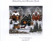Heaven and Earth Designs: A Real Snow Job - Cross Stitch Pattern