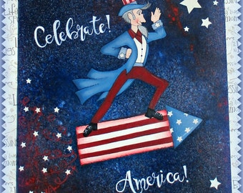 E PATTERN - Celebrate America! Fun and Patriotic! Designed & Painted by Sharon Bond - FAAP