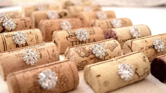Wedding Place Card Holders Wine Tasting By