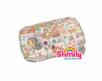 Zip Clutch Organizer - Girl