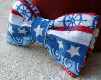 Boy's Nautical Bow Tie