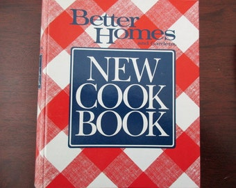 used book-Better Homes and Garden Cook Book - 1989