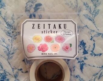 NEW 175 pieces Roll sticker Flower